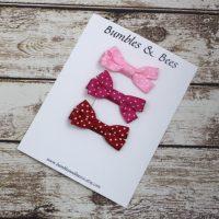 pink-red bow hair clip set.JPG